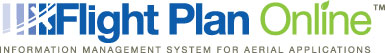 Flight Plan Online™ Information Management System for Aerial Applications